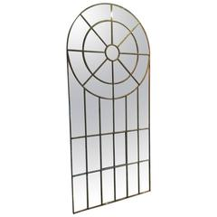Cast Iron Crittall Mirror, English, circa 1890
