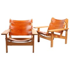 Pair of Hunting Chairs by Kurt Østervig