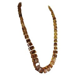 Fine Baltic Graduated, Amber Necklace