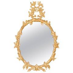 George III Oak Leaf Mirror