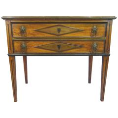 Early 19th Century Danish Directoire Style Chest