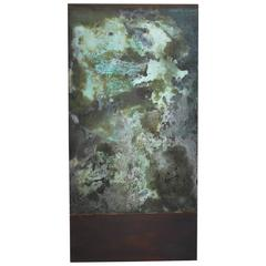 "Oxidation Painting ""Verbena"" by Willie Little"