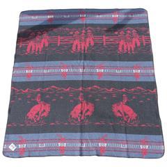 Fantastic Cowboy Camp Blanket from Idaho