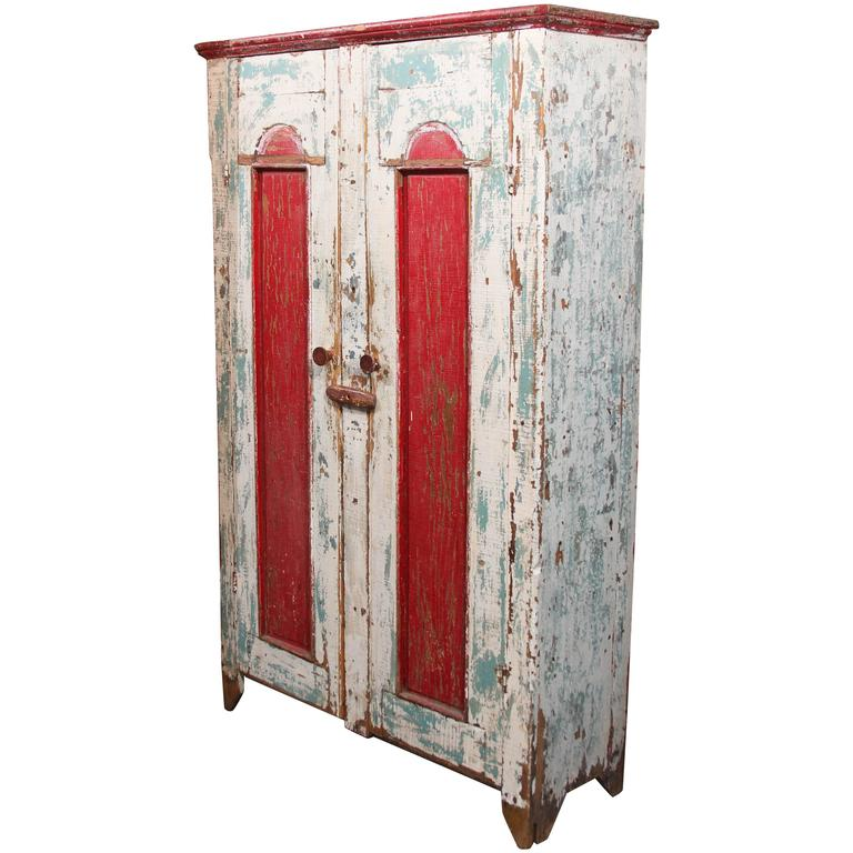 Midwest Cabinet in Old Paint For Sale