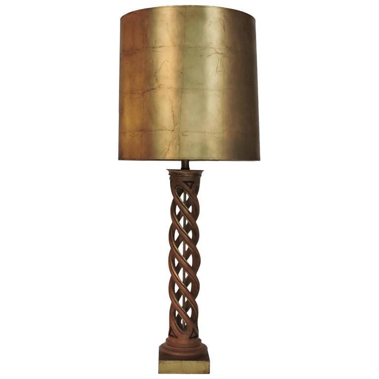 Frederick Cooper Helix Lamp James Mont.