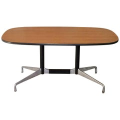 Herman Miller Eames Segmented Base Conference or Dining Table in Ash