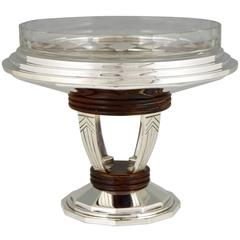 French Art Deco centerpiece by Raynaud 1930