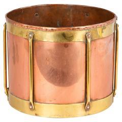 French 19th Century Copper Grain Measure