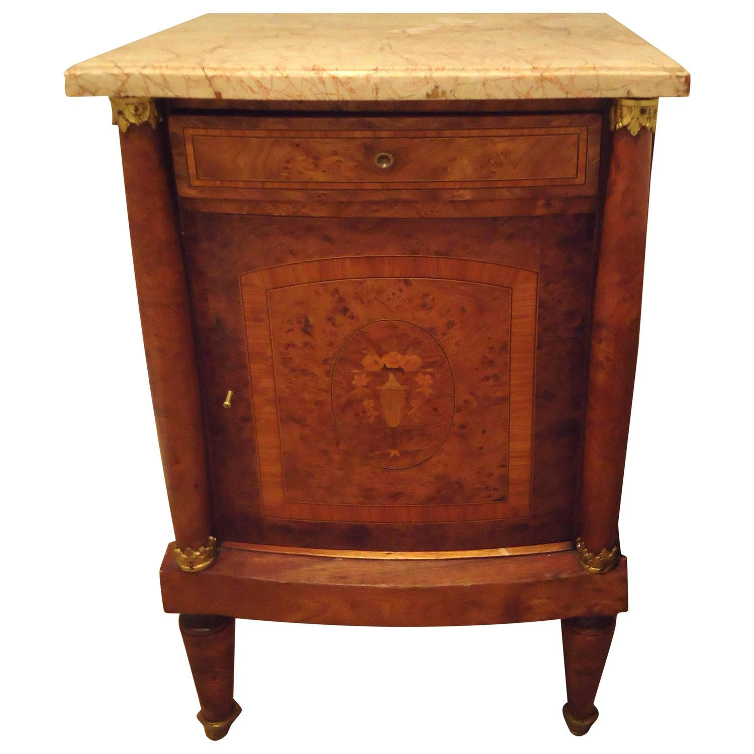 Pretty antique french nightstand at 1stdibs - Pictures of nightstands ...