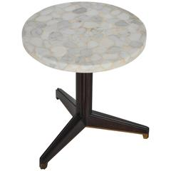 Edward Wormley for Dunbar Terrazzo Stone Side Table