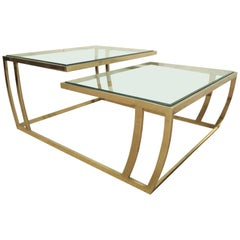 Gorgeous Bi-Level Modern Table