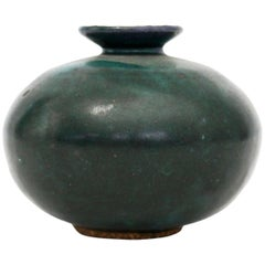 Diminutive Jade Green Vase