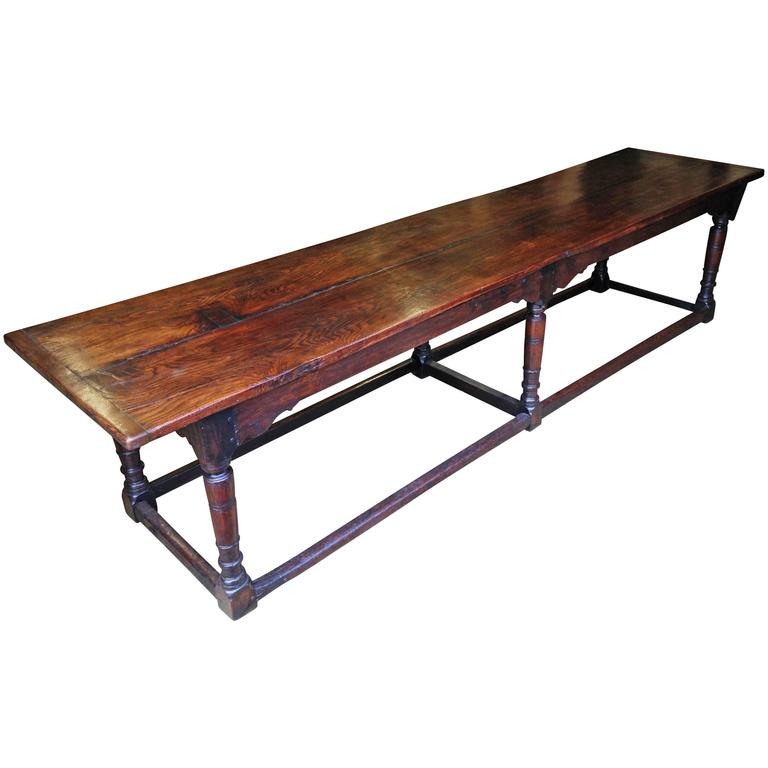 Very Large 17th Century Oak Refectory Table at 1stdibs : 3485782l from www.1stdibs.com size 768 x 768 jpeg 34kB