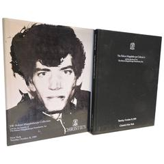 Robert Mapplethorpe Collection, First Edition Christie's Auction Catalog, 1989