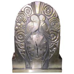 French Art Deco Clock by R. Terras