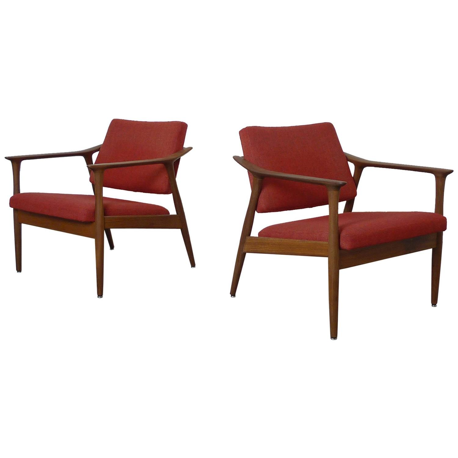 Sandvik Norway  city photo : ... Tono Easy Chairs by Torbjørn Afdal for Sandvik Mobler, Norway, 1950s