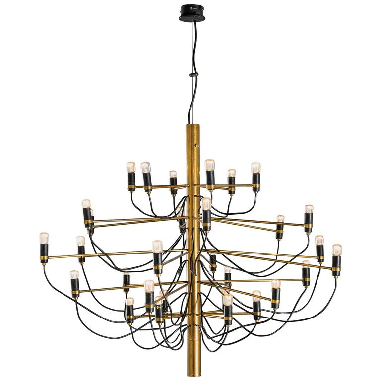 "Gino Sarfatti, Suspension model ""2097/30"",Production Arteluce, 1958. For Sale"