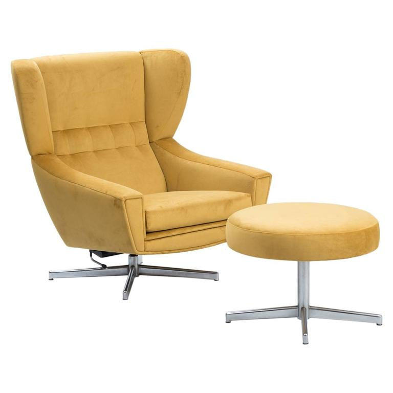 this danish swivel chair with ottoman is no longer available