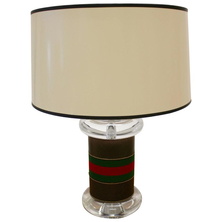 Contemporary Italian Table Lamp Designed and Made by Gucci
