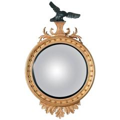 Eagle Convex Mirror in the Regency manner