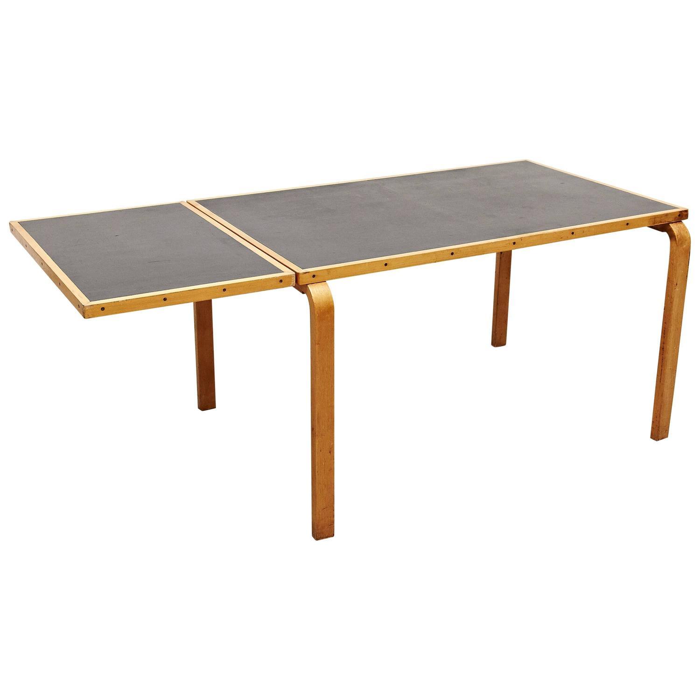 alvar aalto dining table for artek circa 1950 at 1stdibs. Black Bedroom Furniture Sets. Home Design Ideas