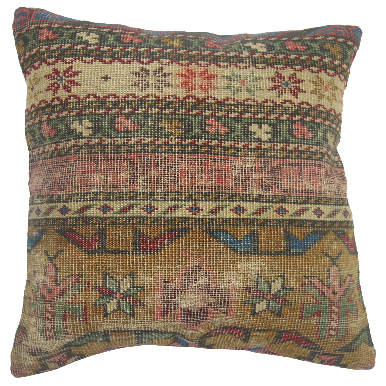 Caucasian Throw Pillow