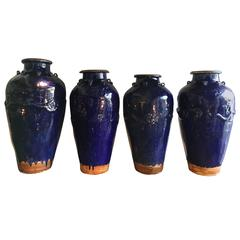Set of Four Martavan Jars
