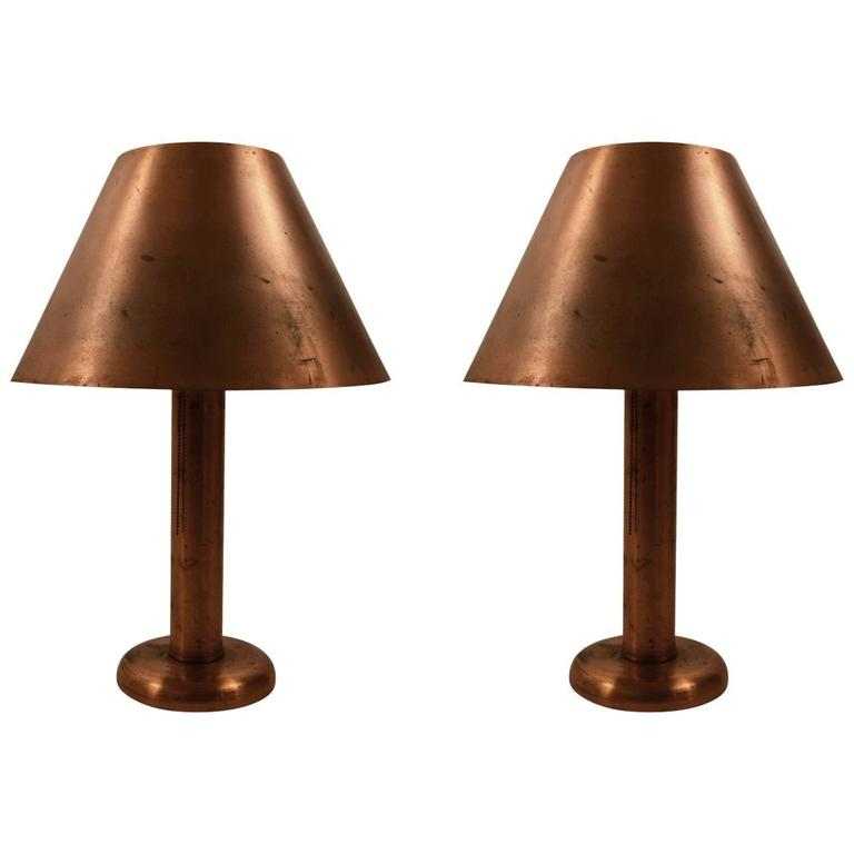 lamp lamps form copper the in acorn japanese