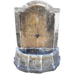 Antique Demi Basin Fountain
