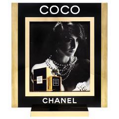 Coco Chanel Perfume Lightbox Ad