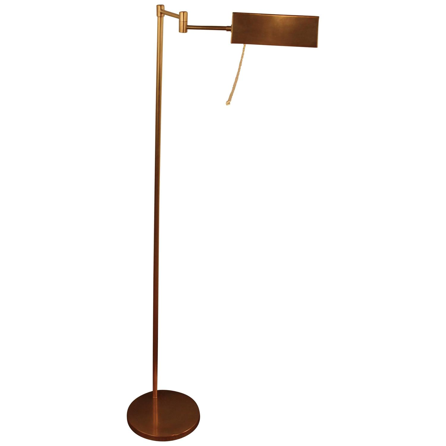 French Bronze Reading Or Pharmacy Floor Lamp At 1stdibs