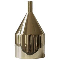 Via Fondazza, Large Skultuna Brass Vase, Design by Paolo Dell'Elce