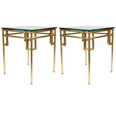 Pair of Side Tables in the Style of Baguès