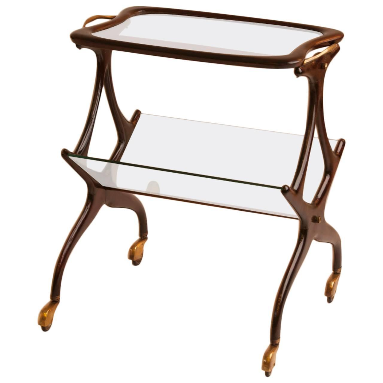 Wonderful image of Italian Magazine Rack/Side Table at 1stdibs with #9C642F color and 1280x1280 pixels