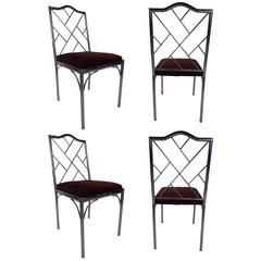 Four Mid-Century Style Dining Chairs