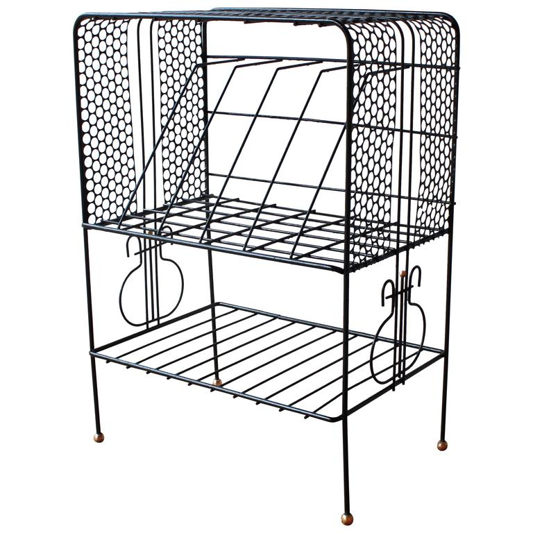 Mategot Style Storage Rack For Sale