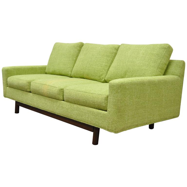 Good 1960u0027s Mid Century Modern Sofa In Manner Of Edward Wormley For Dunbar
