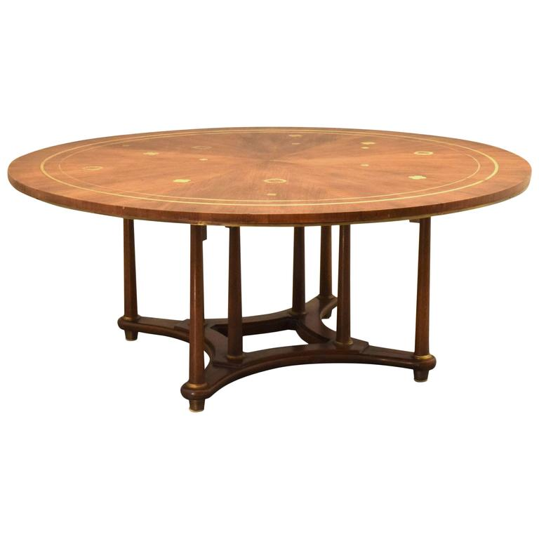 Bert england for johnson furniture large cocktail table for Cocktail tables and chairs for sale