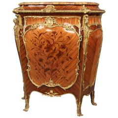 Superb Late 19th Century Gilt Bronze-Mounted Cabinet by Joseph Zwiener