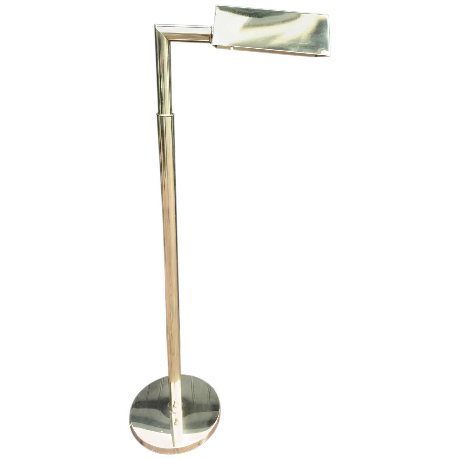 Koch and lowy brass reading lamp for sale at 1stdibs - Floor lamps for reading contemporary ...