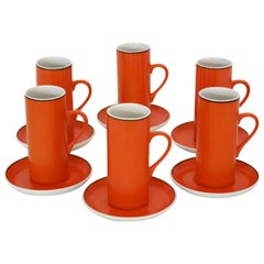 Six Cup Espresso Set by Lagardo Tackett