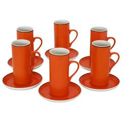 Six Cup Espresso Set by Lagardo Tackett