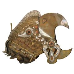 Sergio Bustamante Decorative Helmut of Eagle