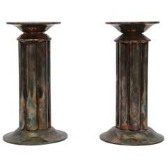 Pair of Richard Meier Candlestick Holders