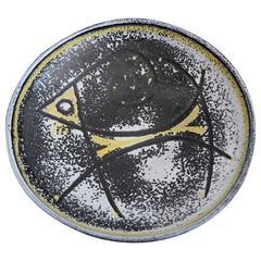 Ceramic Bowl with Animal Figure