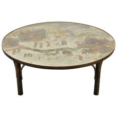 "Large Philip and Kelvin Laverne ""Tao"" Coffee Table"