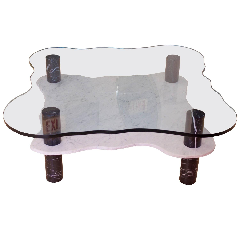 Italian Marble Coffee Table At 1stdibs