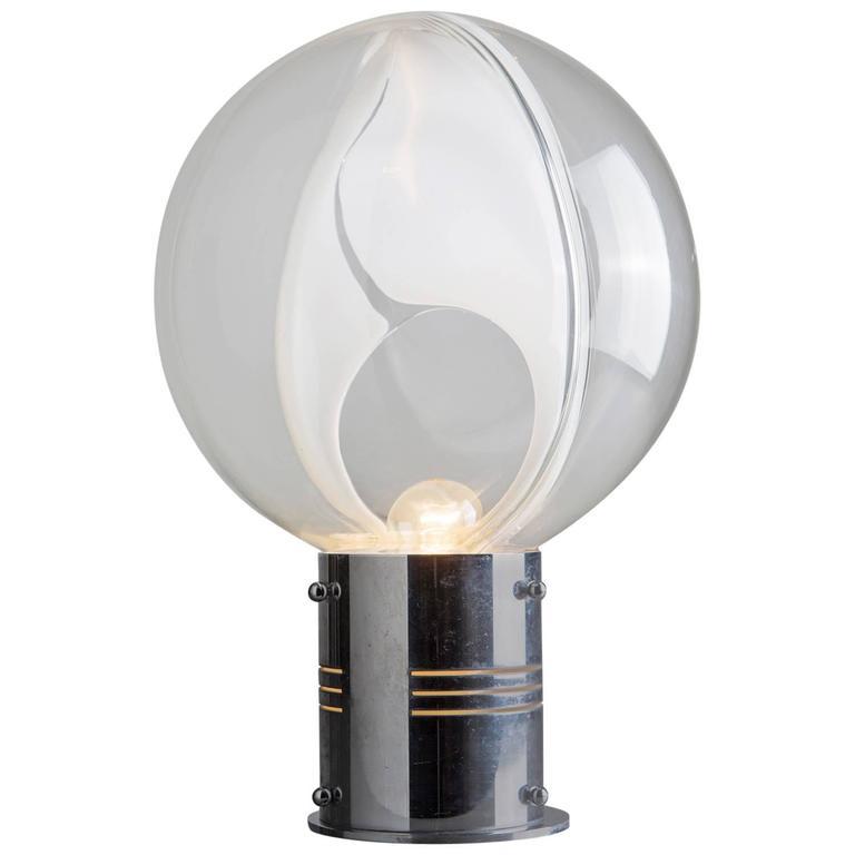 """Marvelous """"Membrane"""" Table Lamp by Toni Zuccheri for Venini"""