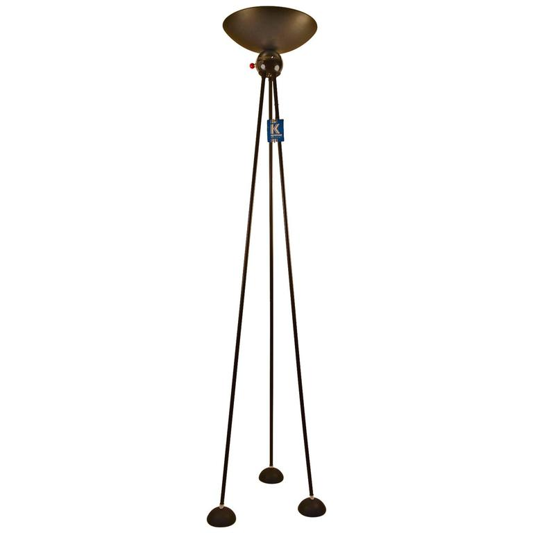 "Midcentury Tripod Torchiere Floor Lamp by ""Keystone"""