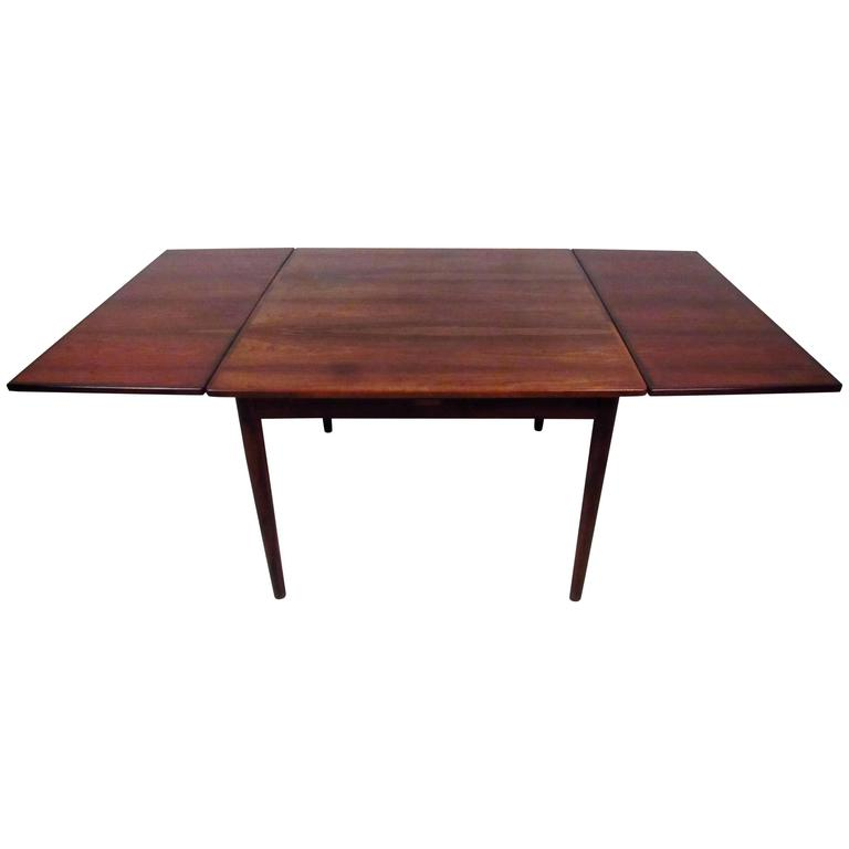 Danish Rosewood Dining Table attributed to Arne Vodder